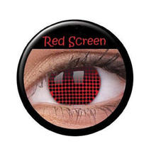 Kontaktlinsen Red Screen