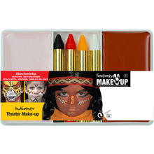 Schmink-Set Theater Make-Up Indianer