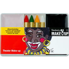 Schmink-Set Theater Make-Up Schwarz