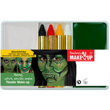 Schmink-Set Theater Make-Up Hexe