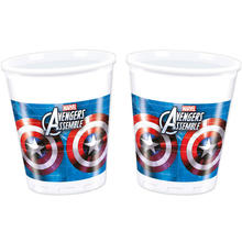 SALE Becher Avengers Captain America 200 ml, 8 Stk