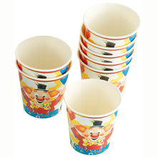 SALE Becher Clown mit Ballons 200 ml, 8 St�ck