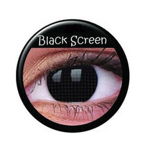 SALE Kontaktlinsen Black Screen