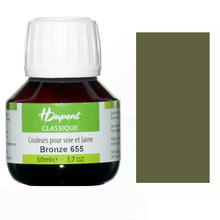 SALE Dupont Seidenmalfarbe 50 ml Bronze