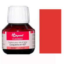 Dupont Seidenmalfarbe 50 ml Coquelicot