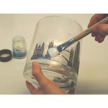 Windlichtglas gestaltet mit foto transfer potch ideen zu - Foto potch ideen ...