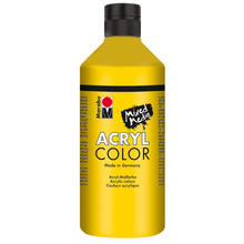Marabu Acryl Color, 500 ml, Gelb