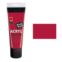 Marabu Acryl Color, 225 ml, Karminrot