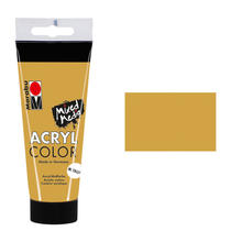 Marabu Acryl Color, 100 ml, Gold