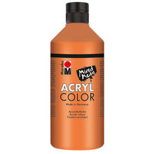 Marabu Acryl Color, 500 ml, Orange