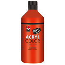 Marabu Acryl Color, 500 ml, Zinnoberrot