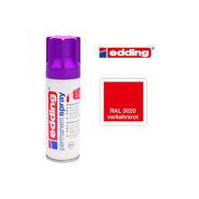 Edding Permanent Spray, 200ml, Verkehrsrot