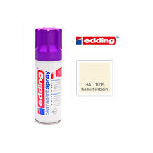 Edding Permanent Spray, 200ml, Hellelfenbein