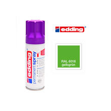 Edding Permanent Spray, 200ml, Gelbgrün