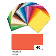 Tonpapier 130g/qm, DIN A3, 50er Pack, Orange