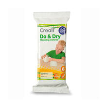 Creall Do & Dry Modelliermasse, wei�, 500g