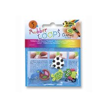 Rubber-Loops Charms FUNLAND, 5 Teile