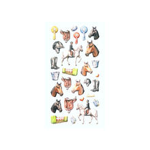 Softy Stickers Reiten