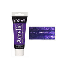EL GRECO Acrylfarbe Brillantviolett 75 ml