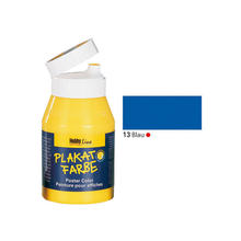 SALE Hobby Line Plakatfarbe, 500 ml, Blau