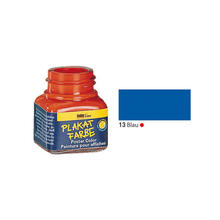 SALE Hobby Line Plakatfarbe, 20ml, Blau