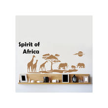 SALE HOME DESIGN Wandschablone  Africa 140x84cm
