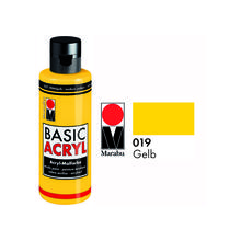 Marabu Basic Acryl 80ml, Gelb