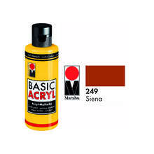 Marabu Basic Acryl 80ml, Siena