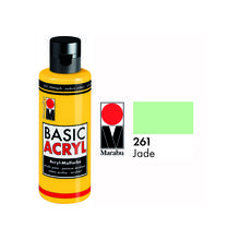 SALE Marabu Basic Acryl 80ml, Jade