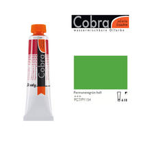 Cobra Study Ölfarbe, 40ml, Permanentgrün hell
