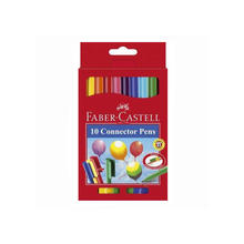 Faber-Castell Connector Pen Filzstifte, 10er