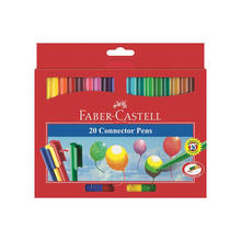 Faber-Castell Connector Pen Filzstifte, 20er