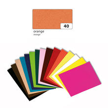 10er Pack Moosgummiplatte 2mm 20x30cm Orange