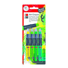 Marabu Art Crayon Wachsstifte-Set Green Jungle