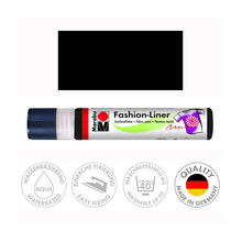 Marabu Fashion-Liner, 25 ml, Schwarz