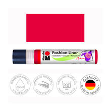 Marabu Fashion-Liner, 25 ml, Rot