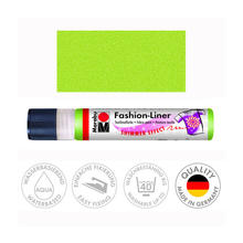 Marabu Fashion-Liner, 25 ml, Schimmer-Reseda