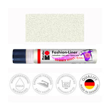 Marabu Fashion-Liner, 25 ml, Schimmer-Perlmutt