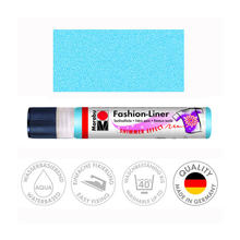 Marabu Fashion-Liner, 25 ml, Schimmer-Hellblau
