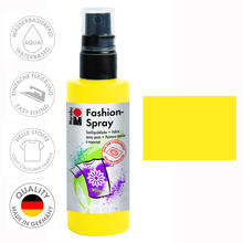 Marabu Fashion-Spray, 100ml, Sonnengelb