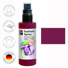Marabu Fashion-Spray, 100ml, Bordeaux