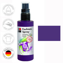 Marabu Fashion-Spray, 100ml, Aubergine