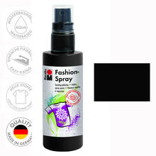 Marabu Fashion-Spray, 100ml, Schwarz