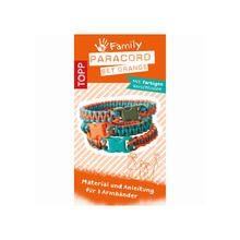 Paracord Set Orange, 2mm