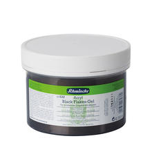 Schmincke Acryl Black Flakes-Gel, 250ml